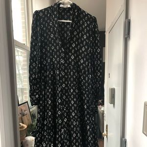 Zara Studio heart dress black size M, new